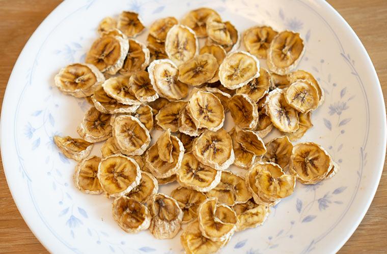 乾燥 バナナチップス